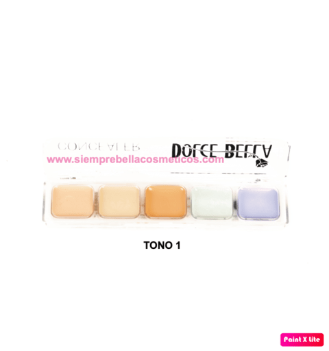 KIT CORRECTOR X5 DOLCE BELLA FB6126