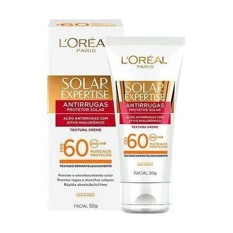 PROTECTOR SOLAR EXPERTISE ROSTRO SPF 60 LOREAL