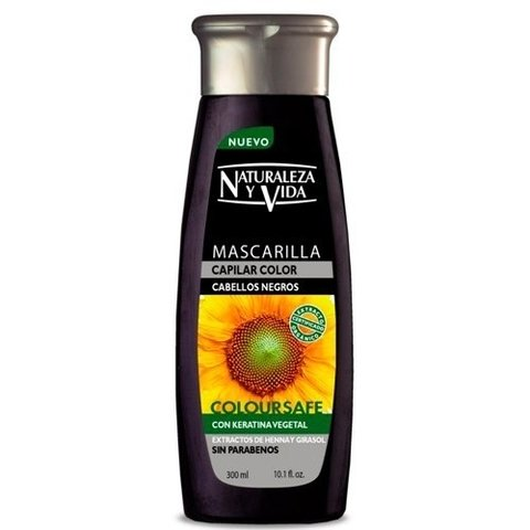 MASCARILLA CAPILAR COLOURSAFE NEGROS