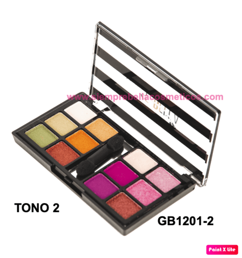 SOMBRAS X 12 COLORES GB1201 DOLCE BELLA