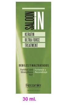 SALOON IN KERATIN ULTRA FORCE TREATMENT RECAMIER