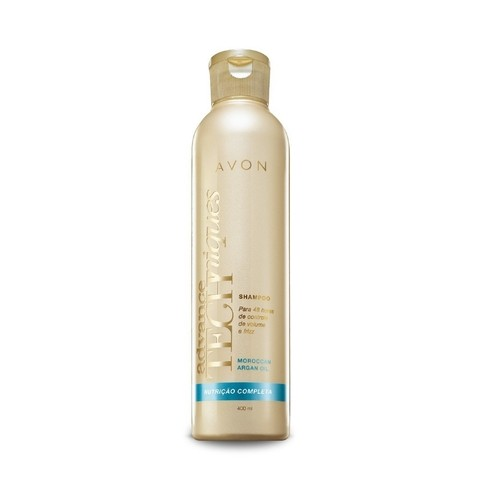 Advance Techniques Shampoo com Óleo de Argan 400ml Avon