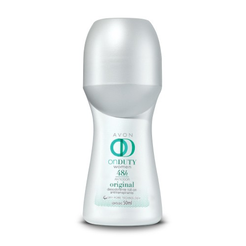 Desodorante Roll-On Antitranspirante On Duty Original Avon - comprar online