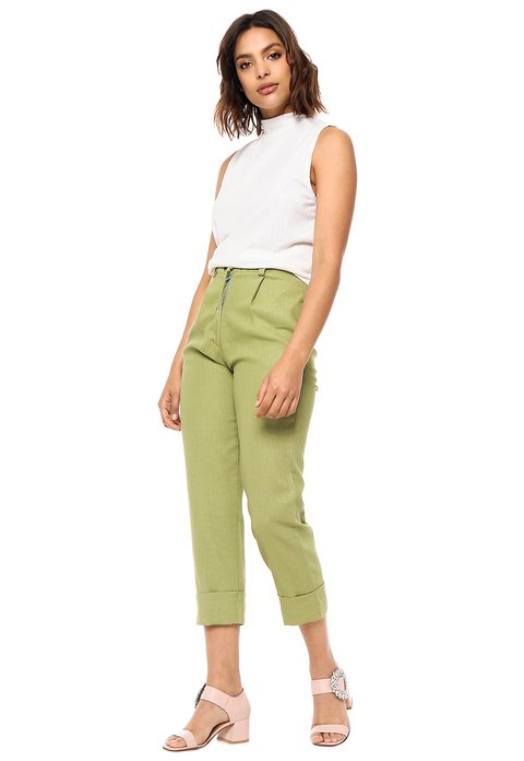 PANTALON TAYLOR VERDE on internet