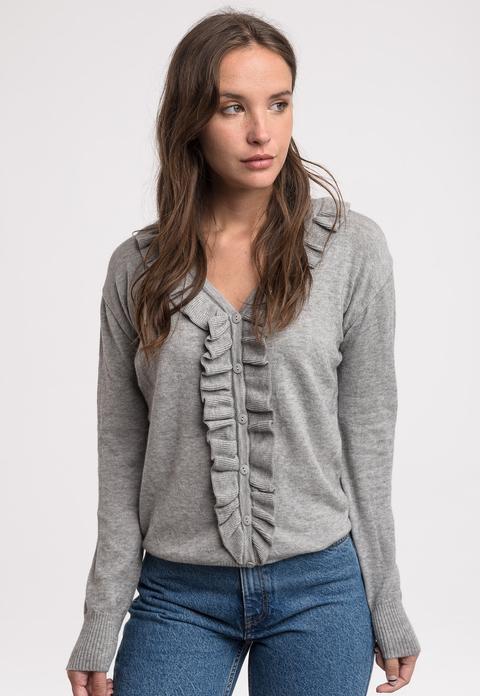 MUESTRA - Aa. Campera Holly gris