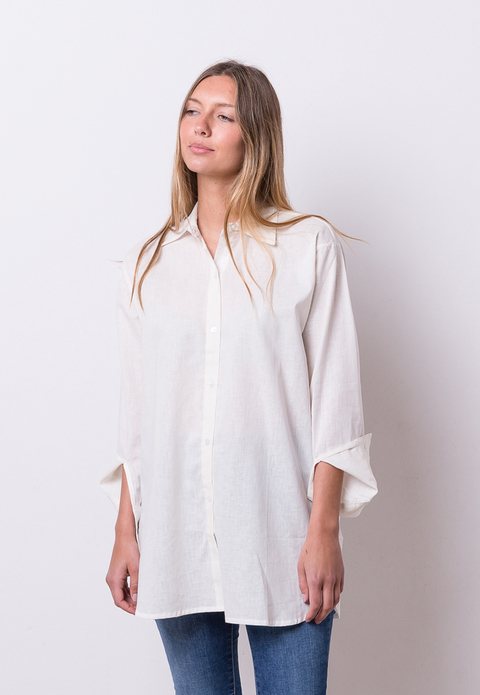 2 SELECCION: Camisa Grace off white