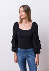LIMITED EDITION /  Aa - Blusa Antonia Negro - Pilar Buenos Aires