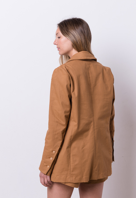 Image of Aa- Blazer Max Camel