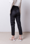 Pantalon Frunce Negro on internet
