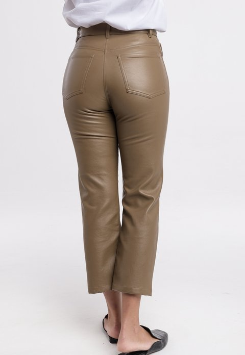PRE ORDER: Pantalon Juno marron on internet