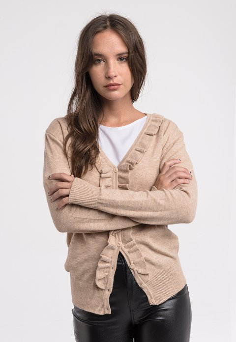 Aa. Campera Holly Beige - Pilar Buenos Aires