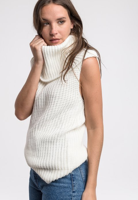 Sweater Harvey off white - tienda online