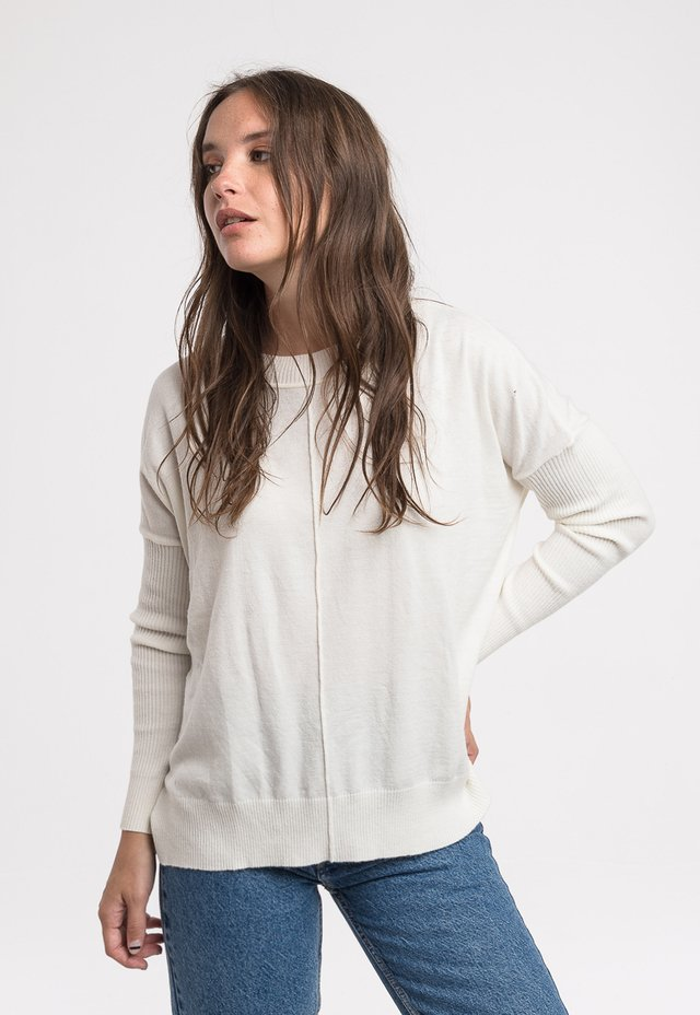 Sweater James off white - buy online