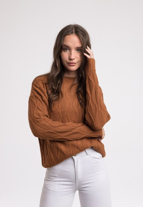 Sweater Alfred Camel - Pilar Buenos Aires