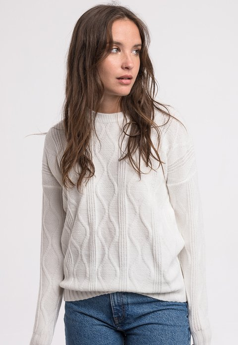 Sweater Alfred off white