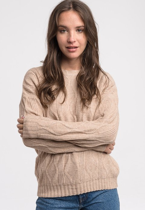 Sweater Alfred Beige - Pilar Buenos Aires