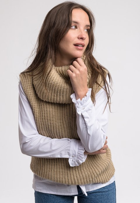 Sweater Harvey Camel - comprar online