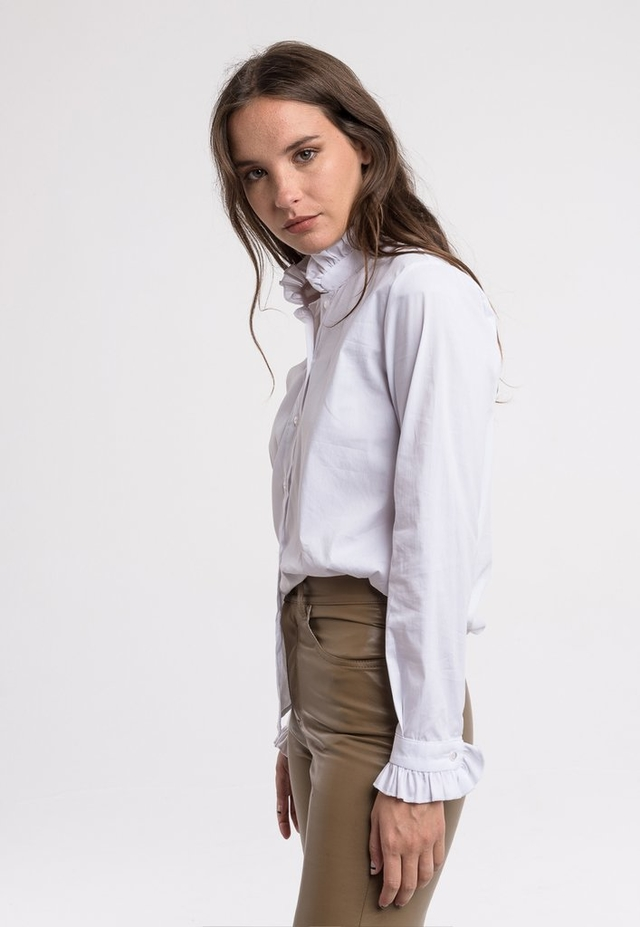 2 SELECCION: Camisa Margot Blanca