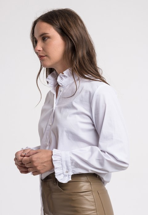 Camisa Margot Blanca en internet