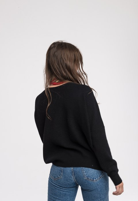 Sweater Charlie Negro - Pilar Buenos Aires