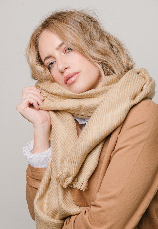 Bufanda Kimberly camel (copia)
