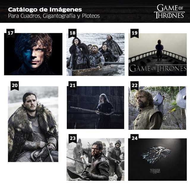 Polipticos Game of Thrones - tienda online