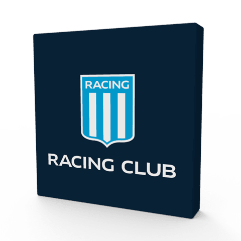Cuadritos decorativos Racing Club