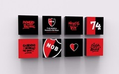 Cuadritos Decorativos Newell´s Old Boys - comprar online