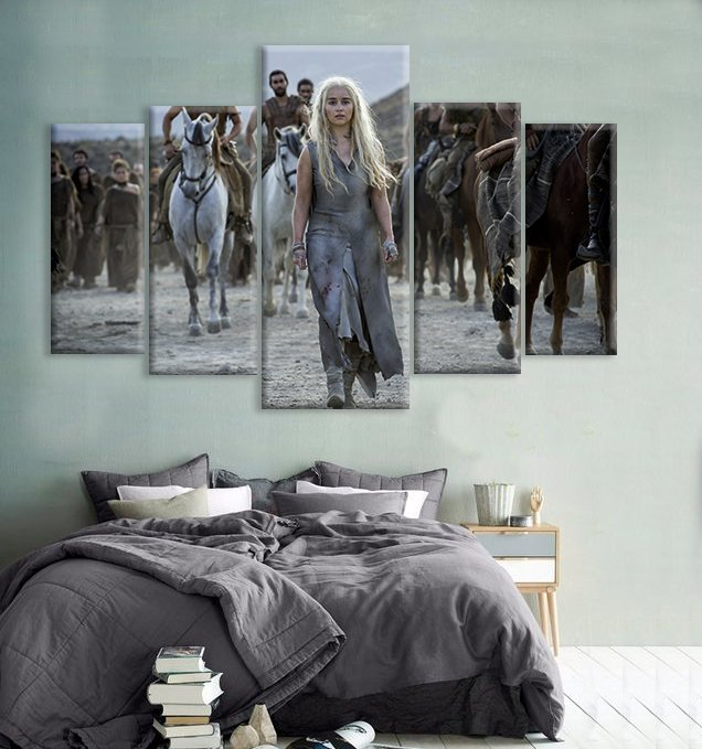 Cuadros Cuadripticos Game of Thrones - Mikiu Design