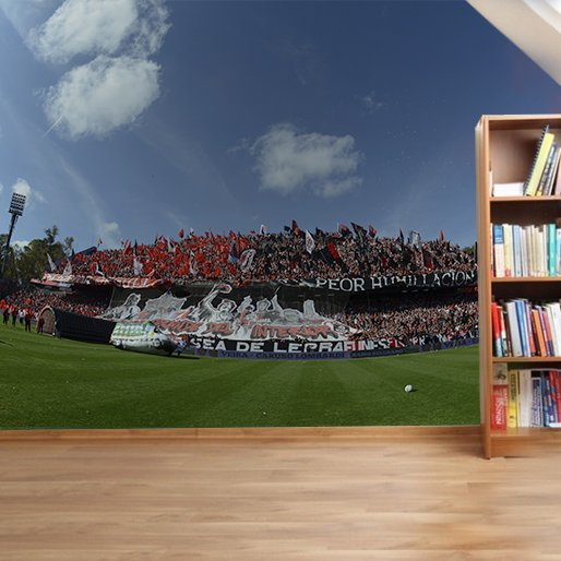 Gigantografía Newell's Old Boys en internet