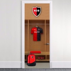 Vinilo decorativo de Puertas Newell´s Old Boys