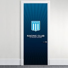 Vinilo decorativo de Puertas Racing Club en internet