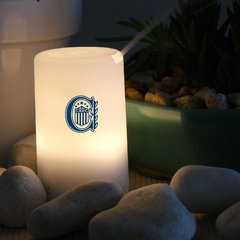 Difusor Aromatico Humidificador Con Led Colores Rosario Central