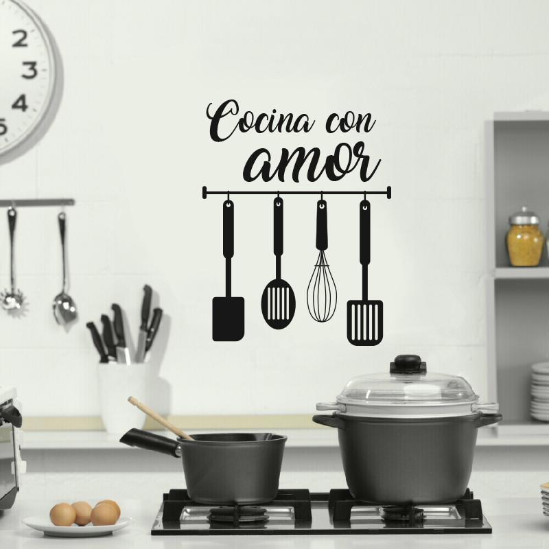 Vinilo cocina for Accesorios decorativos para cocina