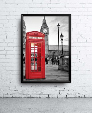Poster Cabine Londres