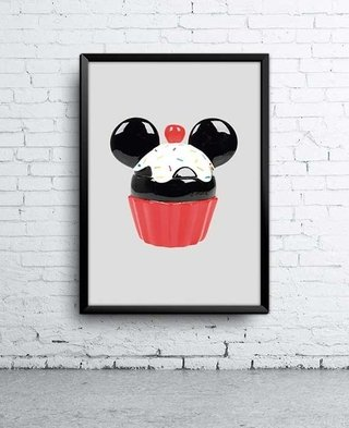 Poster Cupcake do Mickey