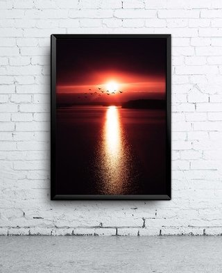 Poster Sunset On The Horizon
