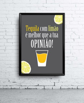 Poster Tequila