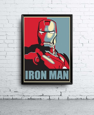 Poster Iron Man Hope
