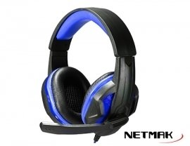 Auricular NETMAK GAMER INFINITY PS4 LED