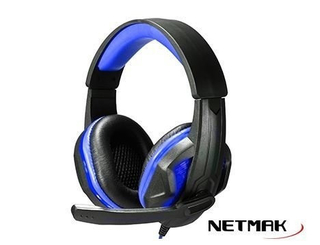Auricular NETMAK GAMER PS4 INFINITY LED