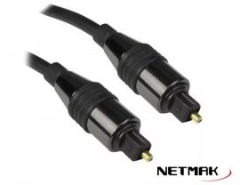 Cable Audio Optico Digital 3m Netmak NM-C101-3