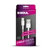 Cable USB a IPHONE 5/6/7 1MTS NETMAK/SOUL - comprar online