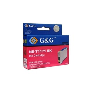 Cartucho EPSON T0631 XL BLACK 7ml G&G