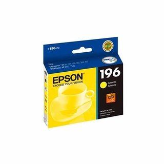 Cartucho EPSON 196 YELLOW ORGINAL