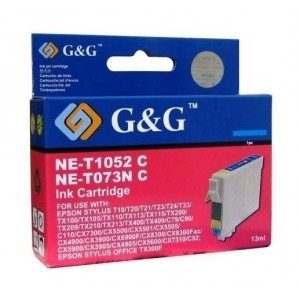 Cartucho EPSON T0632 XL CYAN 7ml G&G