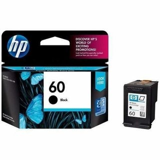 Cartucho HP 60 Negro Original