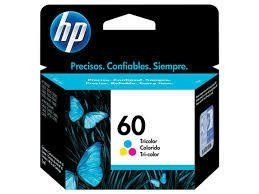 Cartucho HP 60 Tricolor Original