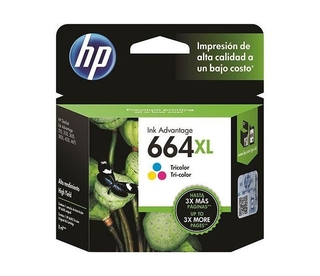 Cartucho HP 664 Tricolor XL Original