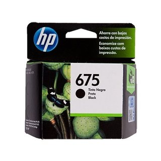 Cartucho HP 675 Negro Original